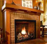 Mendota Full View Fireplace